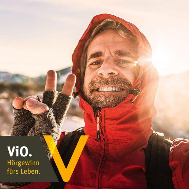ViO Kollektion Hörgeräte - Jetzt Hörgewinn fürs Leben kostenlos zur Probe tragen